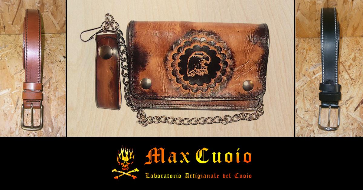 Borse selle e articoli in cuoio max cuoio for Oggetti in cuoio