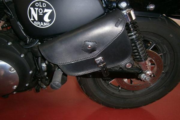 borsa x mole nera in cuoio classica con cinghia max cuoio torino