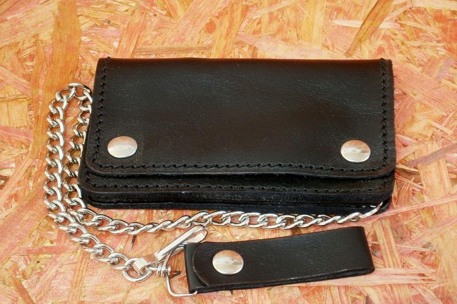 l'atteggiamento migliore acc97 3652f Portafoglio pocket nero in pelle con due tasche