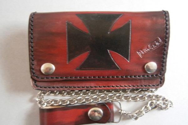 portafogli in cuoio croce personalizzato max cuoio torino